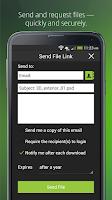 Screenshot of Citrix ShareFile Mobile