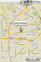 Screenshot of Log Call Location