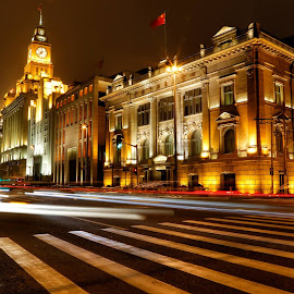 The Bund, Shanghai, China by Marie Ooi - Buildings & Architecture Office Buildings & Hotels