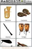 Screenshot of Music Sounds & Ringtones