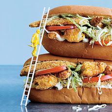 Oven-Fried Shrimp and Okra Louisiana Po'boys