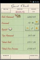 Screenshot of Tip Me (Tip Calculator)