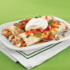 Turkey and Sour Cream Enchiladas