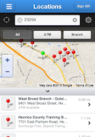 Screenshot of Henrico FCU Mobile