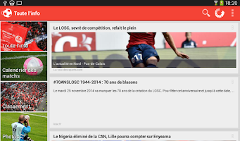 Screenshot of Foot Info Lille