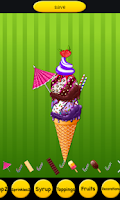 Screenshot of Ice Cream Making Game