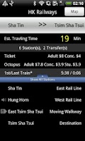 Screenshot of Hong Kong MTR & Light Rail