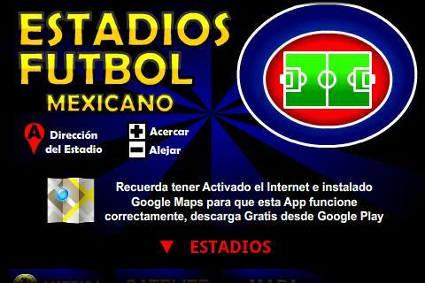 Liga MX Estadios de Futbol