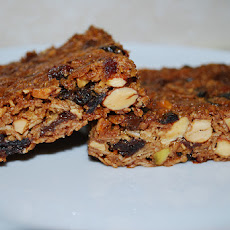 Almond Butter Granola Bars