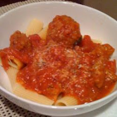 Grandma's Homemade Italian Sauce and Meatballs