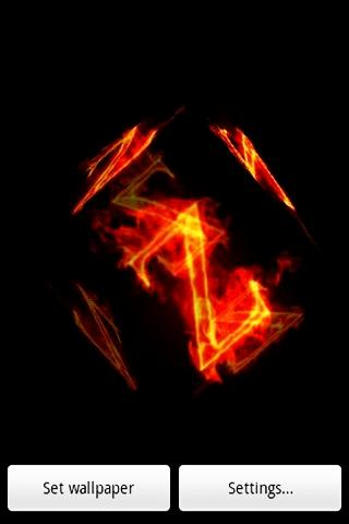 三維燃燒 ž代碼