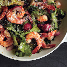 Warm Shrimp and Escarole Salad