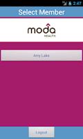 Screenshot of Moda Health ecard