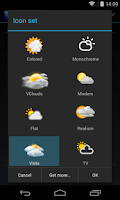 Screenshot of Chronus: Vista Weather Icons