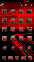 Screenshot of Serenity Launcher Theme Red