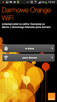 Screenshot of Darmowe Orange WiFi