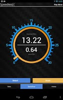 Screenshot of Speedtest X