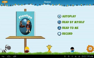 Screenshot of DreamyBooks