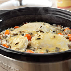 Creamy Chicken and Wild Rice