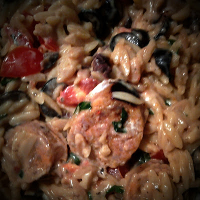 One-Pot Sausage & Orzo