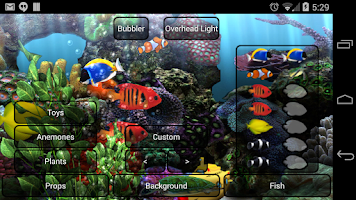 Screenshot of Aquarium Live Wallpaper
