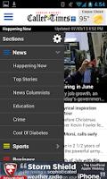 Screenshot of Corpus Christi Caller-Times