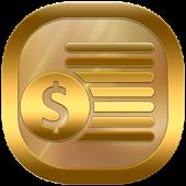 Neon Gold Theme GO Launcher APK for Blackberry