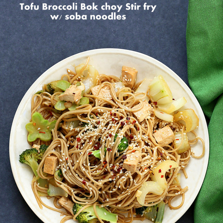 Soba Noodles With Broccoli Sauce Recipes — Dishmaps
