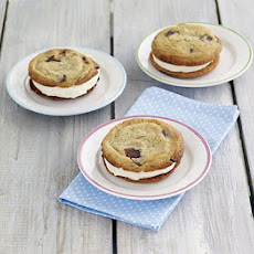 Chocolate-chip Cookie Ice-cream Sandwiches