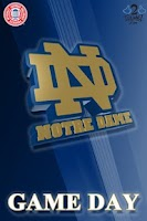 Screenshot of ND Fighting Irish Gameday