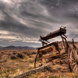 lonely wagon by Jay Fite - Transportation Other