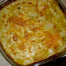 Mom's Red Scalloped Potatoes