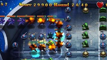 Screenshot of Defense of Galaxy