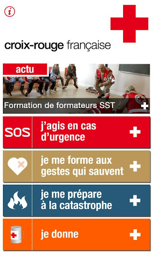 Croix Rouge l'Appli qui Sauve