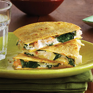 Shrimp & Artichoke Quesadillas