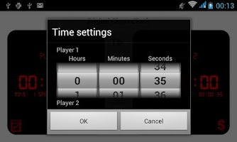 Screenshot of Digital Chess Clock
