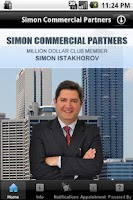 Screenshot of Simon Commercial Partners