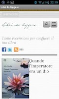 Screenshot of Libri da leggere