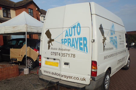 Autosprayer mobile van