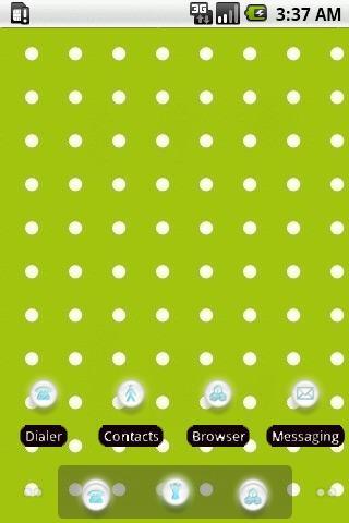 Green Spot [SQTheme] for ADW