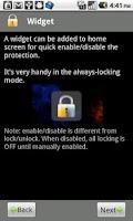 Screenshot of App Protector