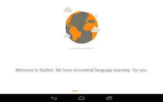 Screenshot of Learn German with Babbel