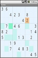 Screenshot of Andy's Sudoku