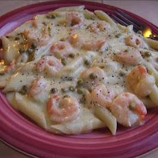 One Pot Shrimp Alfredo