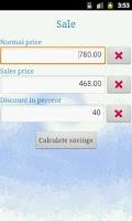 Screenshot of Shopper