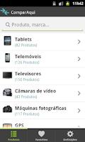 Screenshot of ComparAqui