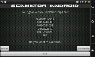 Screenshot of Scanator Android (OB2)