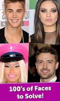 Screenshot of Celebrity Face Mania