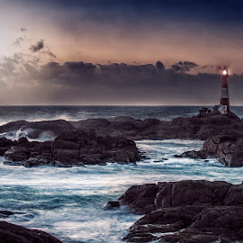 Lighthouse by Kjetil Bentsen - Landscapes Waterscapes ( lighthouse )
