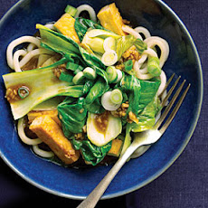 Bok Choy and Tofu Noodle Bowl